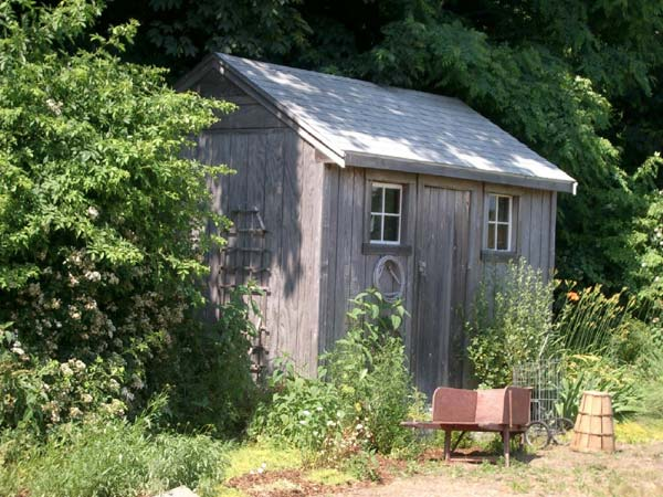 Cape Code Shed