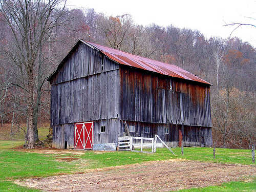 Old barn, rural Ohio