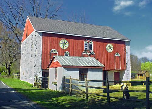 German style barn