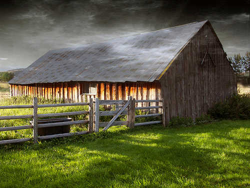 Boulder River Valley barn