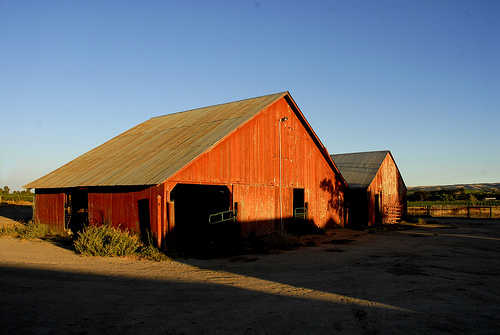 150 years old barns