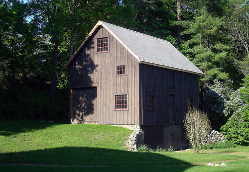 Antique barn in Massachusetts