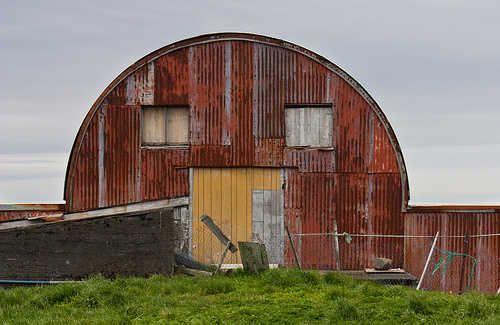Barn in Iceland