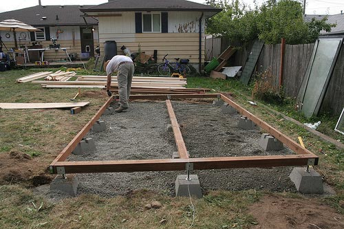 Shed Foundation Ideas Plans how to build a barn » ))@ How to SHED ...