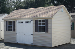 Double Doors Shed