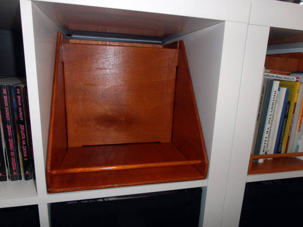 the box inside the unit