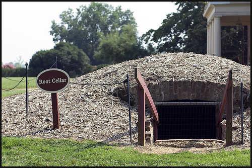 Virginia Plantation Root Cellar