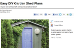 Shed Plans by MotherEarthNews
