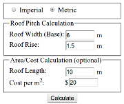 Roof Pitch Calculator Thumbnail